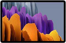 "Планшет Samsung Galaxy Tab S7+ SM-T975 Snapdragon 865 Plus (3.1) 8C/RAM6Gb/ROM128Gb 12.4"" Super AMOLED 2800x1752/3G/4G/Android 10.0/серебристый/13Mpix/8Mpix/BT/GPS/WiFi/Touch/microSD 1Tb/10090mAh"