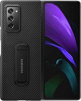 Чехол (клип-кейс) Samsung для Samsung Galaxy Z Fold2 Aramid Standing Cover черный (EF-XF916SBEGRU)
