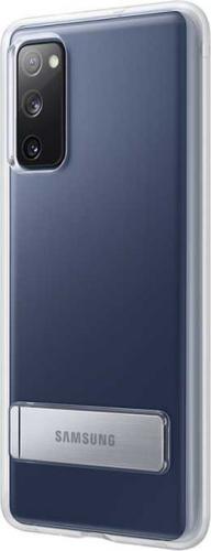 Чехол (клип-кейс) Samsung для Samsung Galaxy S20 FE Clear Standing Cover прозрачный (EF-JG780CTEGRU) фото 3