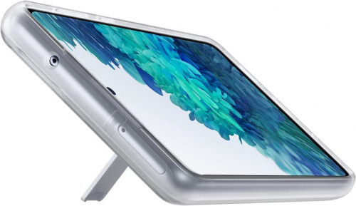 Чехол (клип-кейс) Samsung для Samsung Galaxy S20 FE Clear Standing Cover прозрачный (EF-JG780CTEGRU) фото 5