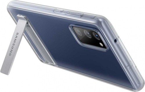 Чехол (клип-кейс) Samsung для Samsung Galaxy S20 FE Clear Standing Cover прозрачный (EF-JG780CTEGRU) фото 6
