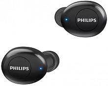 Гарнитура вкладыши Philips TAUT102BK черный беспроводные bluetooth в ушной раковине (TAUT102BK/00)