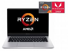 "Ноутбук Xiaomi Mi RedmiBook Ryzen 7 3700U/16Gb/SSD512Gb/AMD Radeon Vega 10/14""/IPS/FHD (1920x1080)/Linux/silver/WiFi/BT"