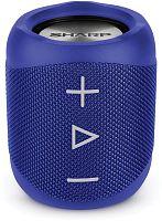 Колонка порт. Sharp GXBT180BL синий 14W 1.0 BT/3.5Jack