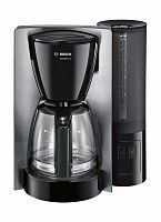 Кофеварка капельная Bosch TKA6A643 1200Вт черный/нержавеющая сталь