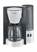 Кофеварка капельная Bosch TKA6A041 1200Вт серый/белый