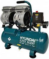 Компрессор поршневой Hyundai HYC 1406S безмасляный 140л/мин 6л 750Вт