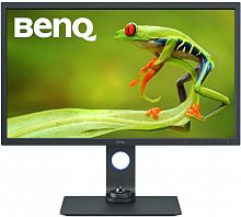 "Монитор Benq 32"" SW321C черный IPS LED 16:9 HDMI матовая HAS Pivot 1000:1 250cd 178гр/178гр 3840x2160 DisplayPort Ultra HD USB 11.8кг"