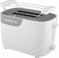 Тостер Polaris PET 0720 700Вт белый/серый