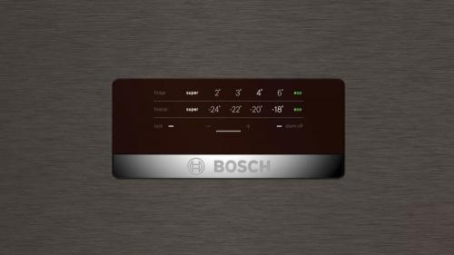 Холодильник Bosch KGN39XG20R коричневый (двухкамерный) фото 2
