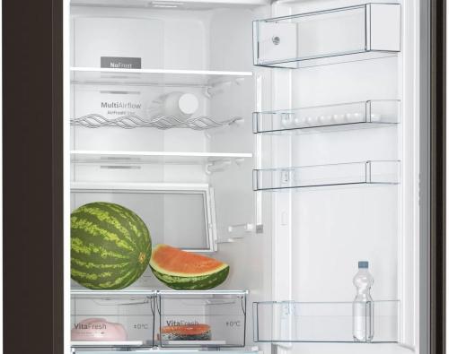 Холодильник Bosch KGN39XG20R коричневый (двухкамерный) фото 3