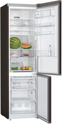 Холодильник Bosch KGN39XG20R коричневый (двухкамерный) фото 4