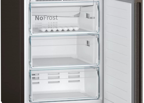 Холодильник Bosch KGN39XG20R коричневый (двухкамерный) фото 5