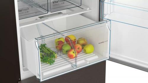 Холодильник Bosch KGN39XG20R коричневый (двухкамерный) фото 6