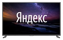 "Телевизор LED Hyundai 55"" H-LED55EU1311 Яндекс черный/Ultra HD/60Hz/DVB-T/DVB-T2/DVB-C/DVB-S/DVB-S2/USB/WiFi/Smart TV (RUS)"