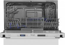 Посудомоечная машина Weissgauff BDW 4106 D 1380Вт компактная белый
