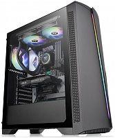 Корпус Thermaltake H350 TG RGB черный без БП ATX 5x120mm 4x140mm 1x200mm 2xUSB2.0 1xUSB3.0 audio bott PSU