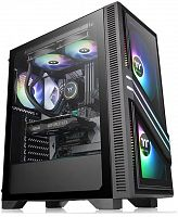 Корпус Thermaltake Versa T35 TG RGB черный без БП ATX 5x120mm 4x140mm 1x200mm 2xUSB2.0 1xUSB3.0 audio bott PSU