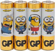 Батарея GP Alkaline Power AA (4шт) спайка