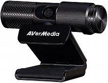 Камера Web Avermedia PW 313 черный 2Mpix USB2.0 с микрофоном