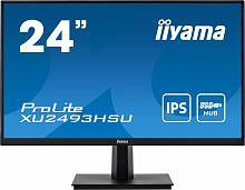 "Монитор Iiyama 23.8"" ProLite XU2493HSU-B1 черный IPS LED 16:9 HDMI M/M матовая 250cd 178гр/178гр 1920x1080 D-Sub DisplayPort FHD USB 3.3кг"
