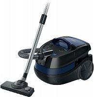 Пылесос Bosch BWD41700 1700Вт черный/синий