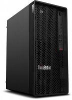 ПК Lenovo ThinkStation P340 MT Core i9 10900K (3.7) 32Gb SSD512Gb/UHDG 630 DVDRW Windows 10 Professional 64 GbitEth 500W клавиатура мышь черный