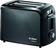 Тостер Bosch TAT3A013 980Вт черный