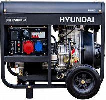 Генератор Hyundai DHY 8500LE-3 7.2кВт