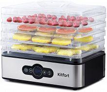 Сушка для фруктов и овощей Kitfort KT-1914 5под. 240Вт черный