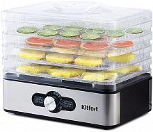 Сушка для фруктов и овощей Kitfort KT-1913 5под. 240Вт черный