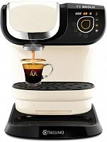 Кофемашина Bosch Tassimo TAS6507 1500Вт бежевый