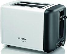 Тостер Bosch TAT3P421 970Вт белый/черный
