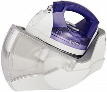 Утюг беспроводной Kitfort KT-2604 1200Вт белый/фиолетовый
