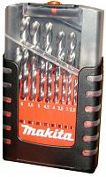 Набор сверл Makita M-force (D-29876) по металлу (19пред.) для шуруповертов/дрелей