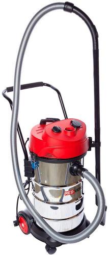 Строительный пылесос RedVerg RD-VC9540 1200Вт (уборка: сухая/влажная) серебристый фото 2