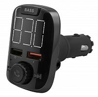 Автомобильный FM-модулятор Neoline Air FM черный MicroSD BT USB