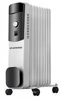 Радиатор масляный Starwind SHV4915 2000Вт белый/черный
