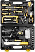 Набор инструментов Deko DKMT89 89 предметов (жесткий кейс)
