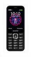 """Мобильный телефон Digma C281 Linx 32Mb черный моноблок 2Sim 2.8"""" 240x320 0.08Mpix GSM900/1800 MP3 microSD"""