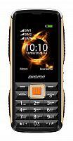 """Мобильный телефон Digma R240 Linx 32Mb черный моноблок 3Sim 2.44"""" 240x320 0.08Mpix GSM900/1800 MP3 FM"""