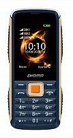 "Мобильный телефон Digma R240 Linx 32Mb синий моноблок 3Sim 2.44"" 240x320 0.08Mpix GSM900/1800 MP3 FM"