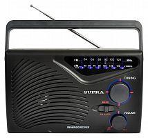 Радиоприемник портативный Supra ST-16 черный