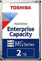 "Жесткий диск Toshiba SAS 3.0 2Tb MG04SCA20EE Enterprise Capacity (7200rpm) 128Mb 3.5"""