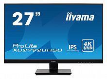 "Монитор Iiyama 27"" XU2792UHSU-B1 черный IPS LED 16:9 DVI HDMI M/M матовая 300cd 178гр/178гр 3840x2160 DisplayPort QHD USB 4.6кг"