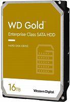 "Жесткий диск WD Original SATA-III 16Tb WD161KRYZ Gold (7200rpm) 512Mb 3.5"""