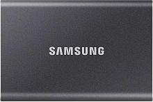"""Накопитель SSD Samsung USB-C 1Tb MU-PC1T0T/WW T7 1.8"""" черный"""