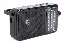 Радиоприемник портативный Сигнал РП-233BT черный USB microSD